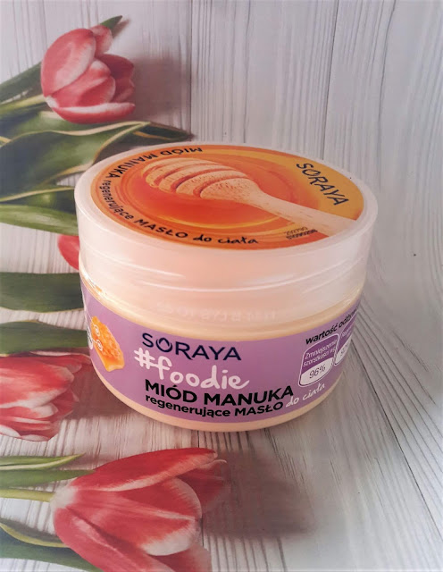 Soraya foodie regenerujące masło do ciała miód manuka