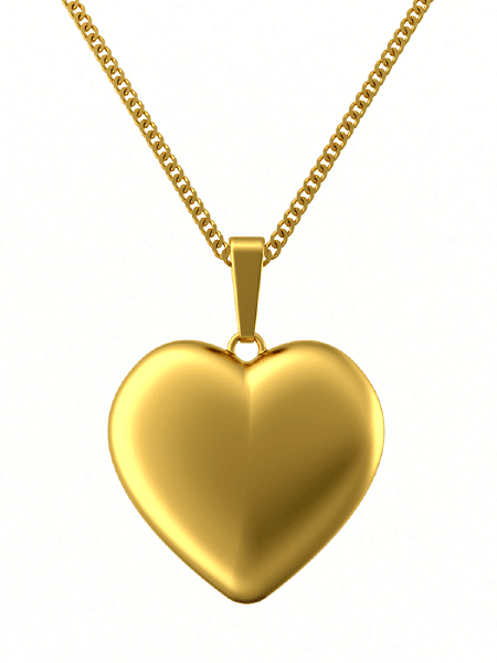 Heart on a Gold Chain