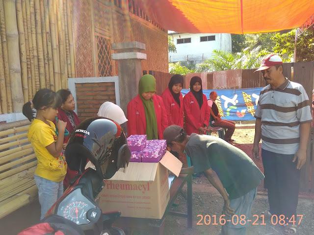 PK. IMM As-Syifa UNMUH Jember turut serta dalam kegiatan Pengobatan Gratis Dhuafa Lazismu