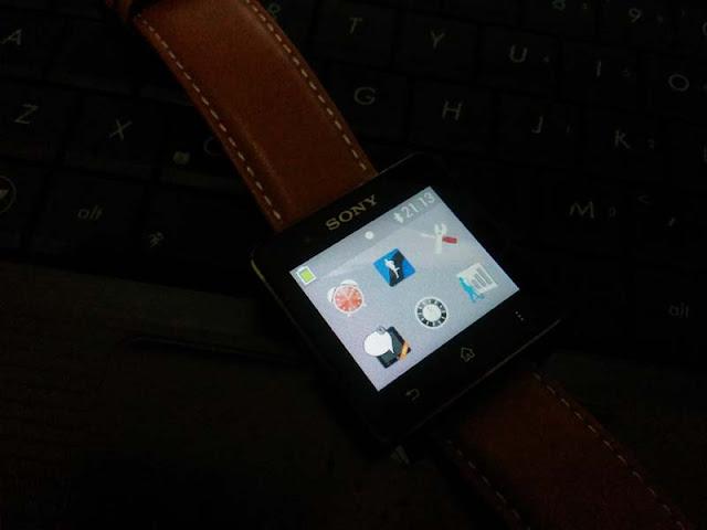 Menghabiskan waktu bersama Sony SmartWatch 2