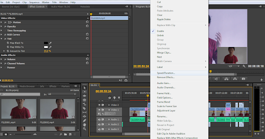 Slow Motion and Fast Motion Adobe Premiere Pro