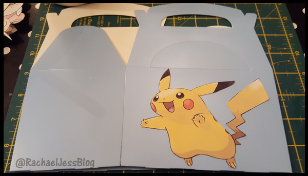 Pikachu Pokemon Party Box