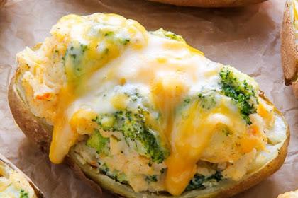Broccoli Cheddar Baked Potatoes Recipes