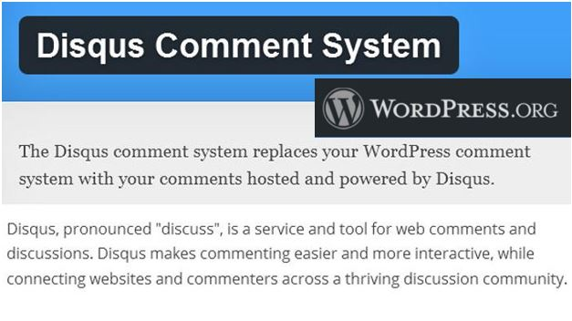 Disqus Comment on Wordpress