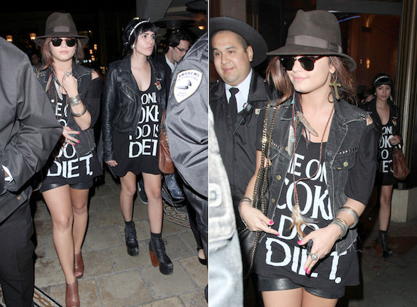 the only coke i do is diet Demi Lovato t-shirt