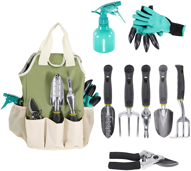 AMAZING GARDEN TOOL KIT - 9 PIECES - GYPO