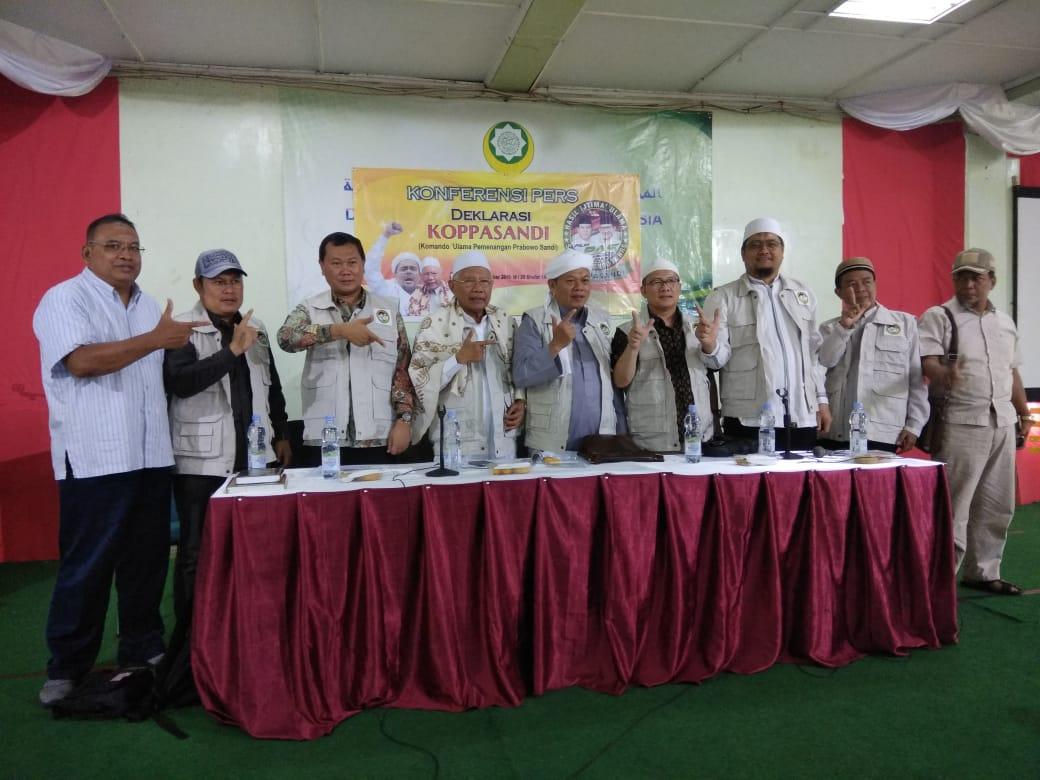 Dukung Prabowo Sandi, Ulama Deklarasikan Koppasandi