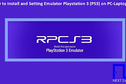 How to Install and Setting the PS3 Emulator on PC Not to Lag