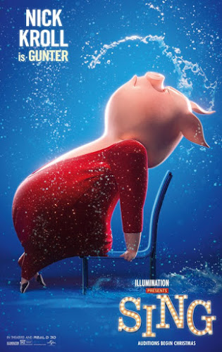 Sing (Web-DL 720p Dual Latino / Ingles) (2016)