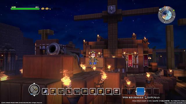 dragonquest builders フリービルドモードで船を作ってみた