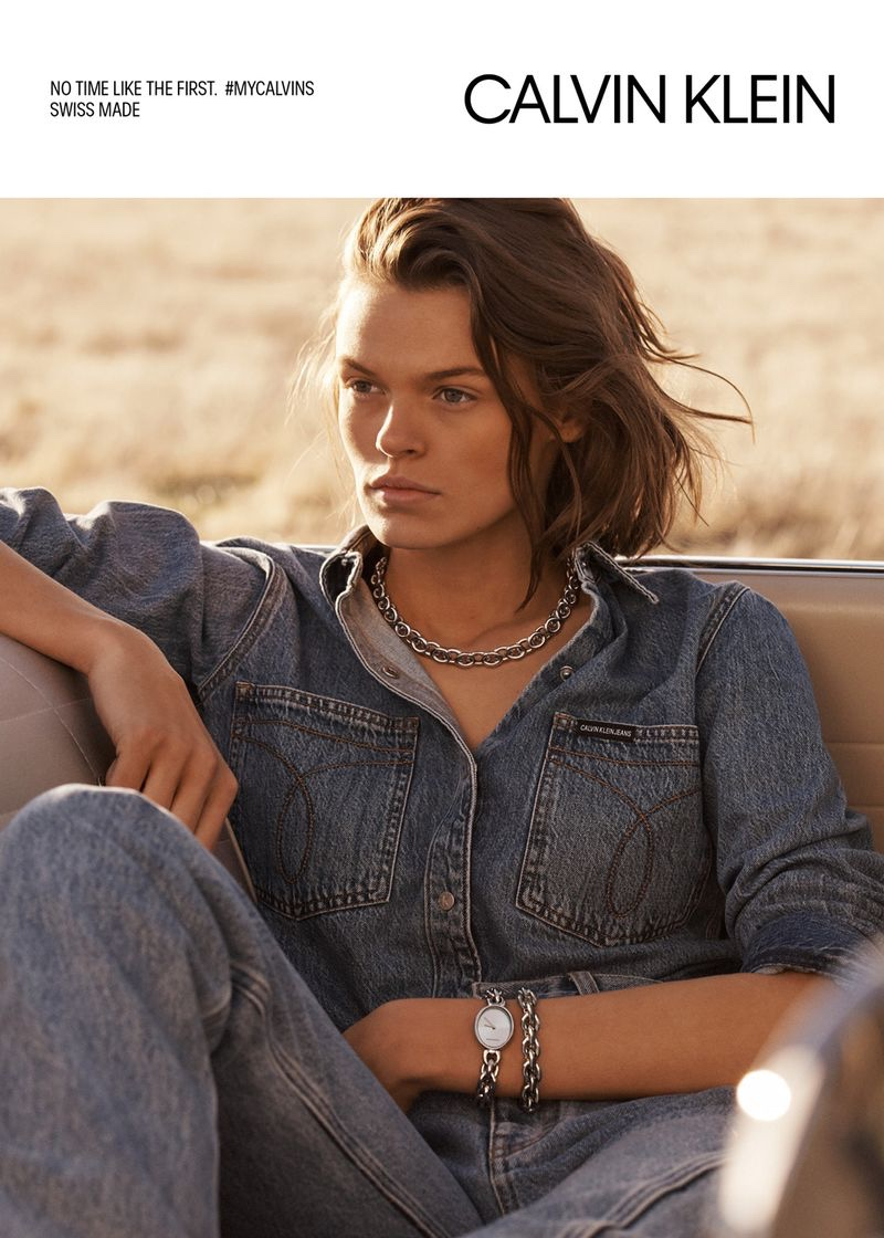 Cara Taylor fronts Calvin Klein Jewelry + Watches spring-summer 2019 campaign