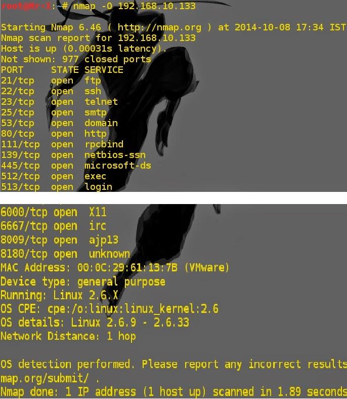Nmap - Gathering Additional Host Information - Pentestmag