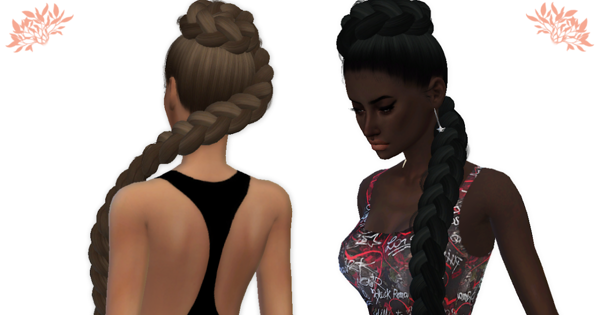 my sims 4 blog anaconda hair retexture by shimydimsims