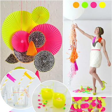 Trendy Neon Birthday Party Ideas