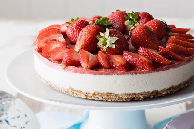 Strawberrry Cheesecake Recipe