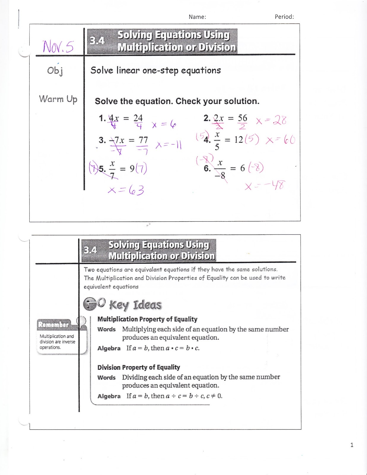 Ms Jean S Classroom Blog Nov 6 Math 7 3 4