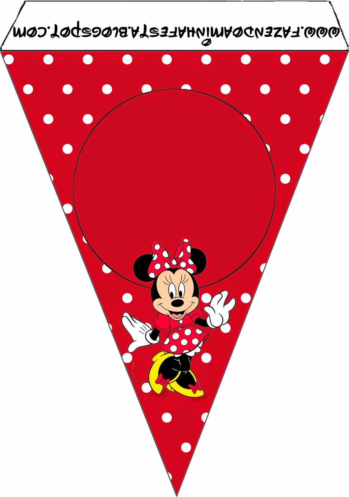Minnie Red, Black, Yellow and Polka Dots: Free Party ...