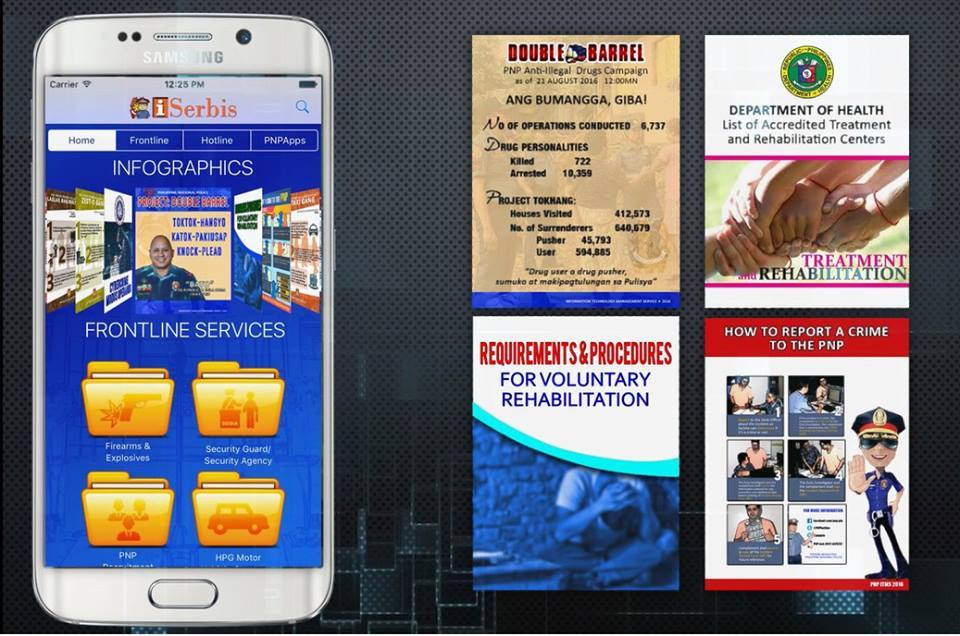 PNP launches mobile app for frontline services, crime