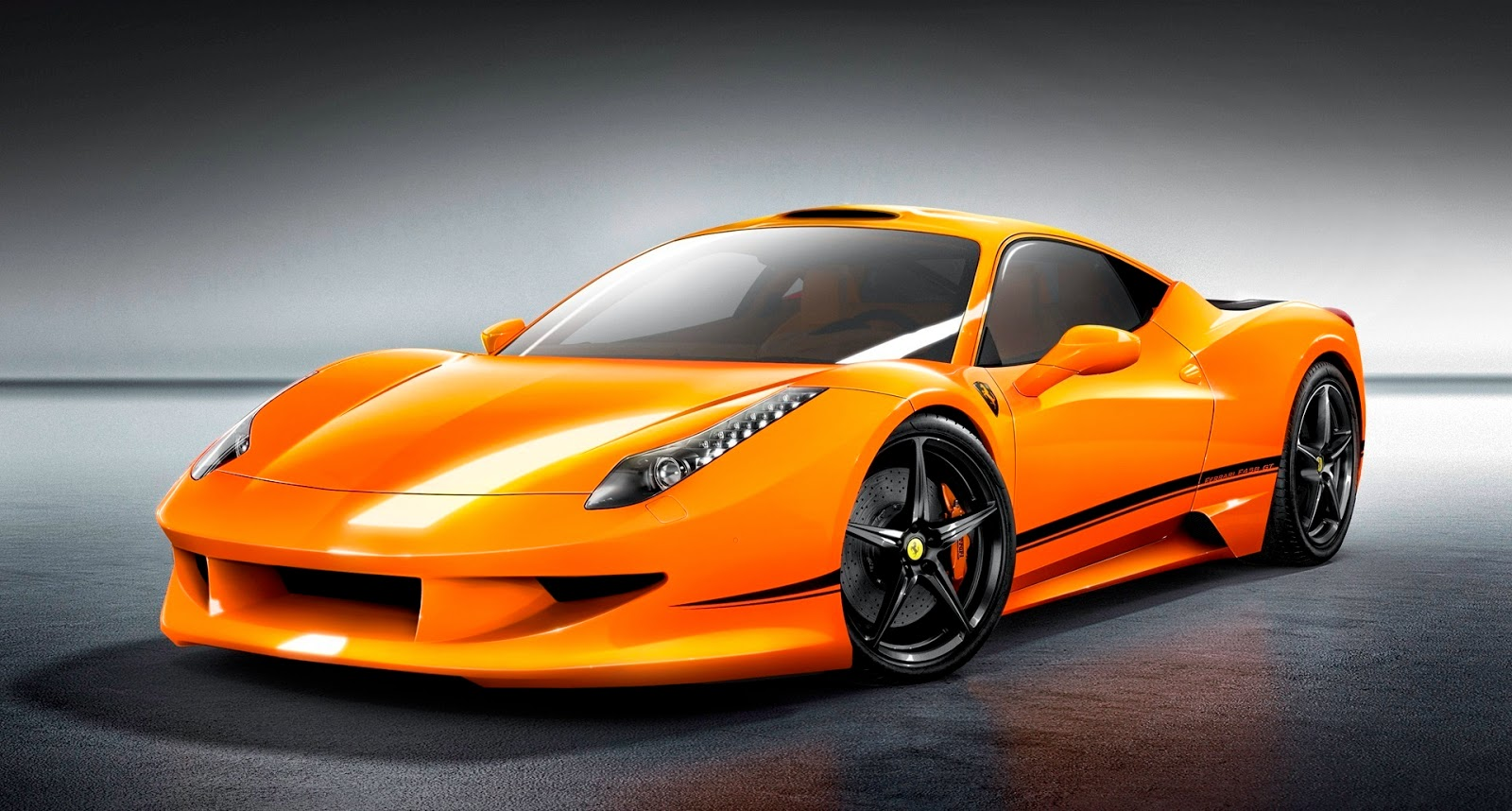 Ferrari Italia Orange