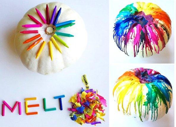 calabaza halloween colores, manualidades, cráyolas, infantil