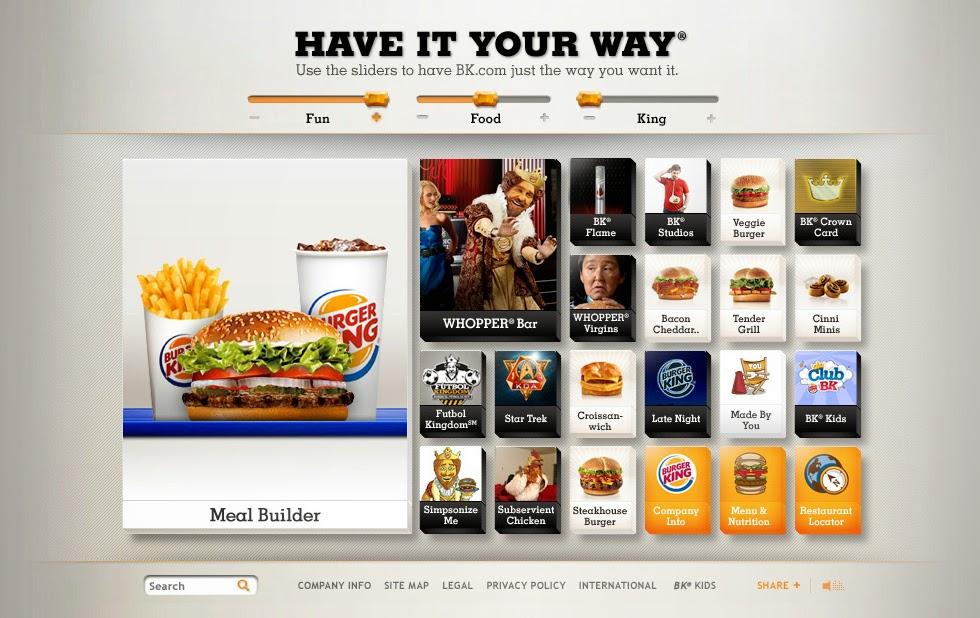 Pelun Chen - Interactive Art Direction and Design - Burger King