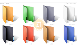 Tips Agar Folder Di Windows Jadi Warna Warni | Trik Windows