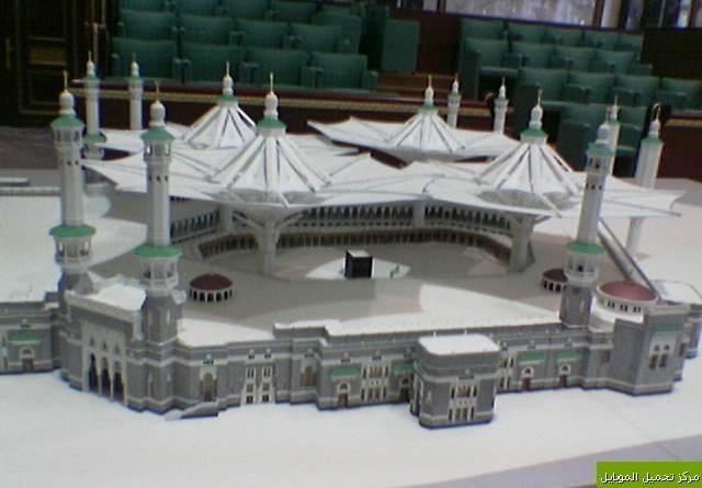 Payung Terbesar di Dunia Mulai Dipasang di Masjidil Haram