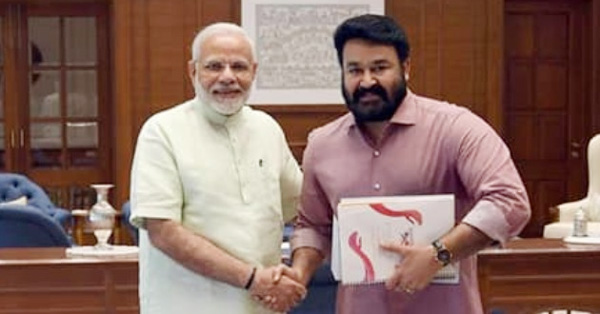 Actor Mohanlal praised central government and Narendra Modi, Kochi, News, Mohanlal, Twitter, Actor, Lok Sabha, Election, Politics, Thiruvananthapuram, Prime Minister, Narendra Modi, Cinema, Entertainment, Kerala