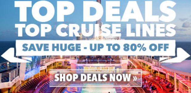 TODAY'S TOP CRUISE DEALS