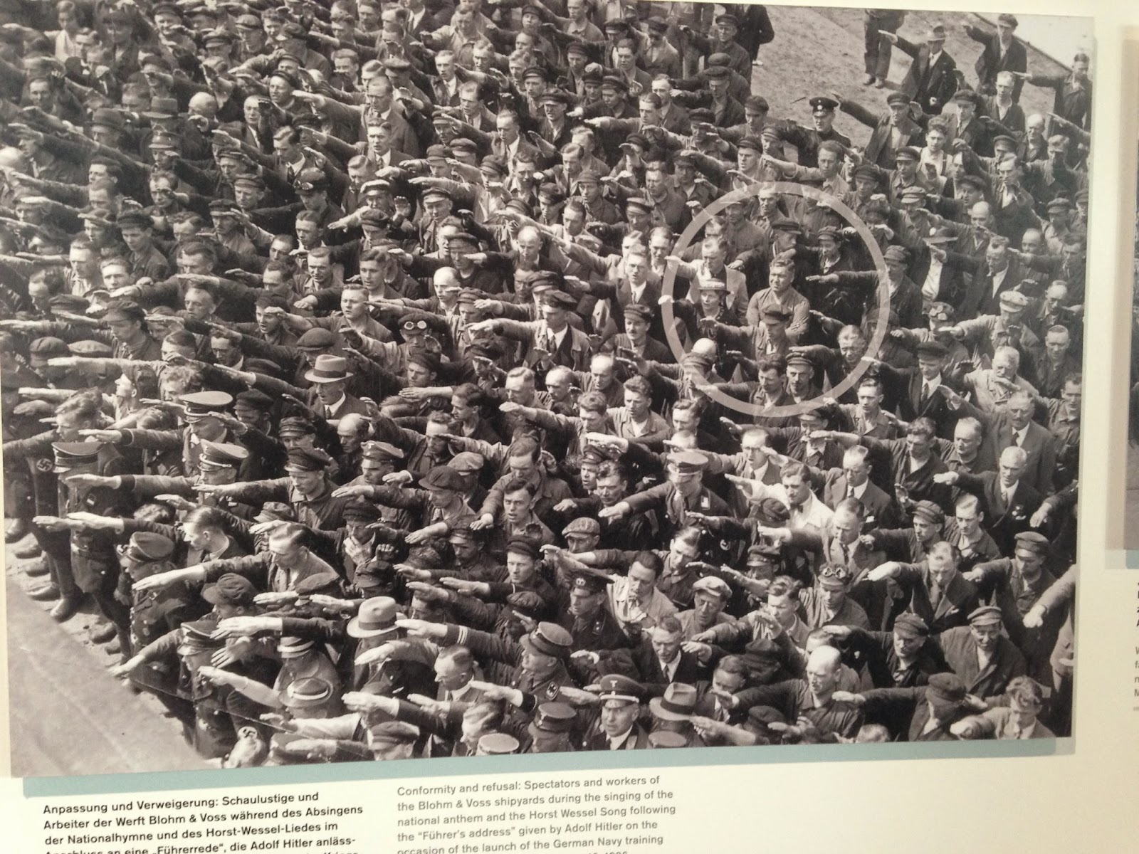 Berlin sa vaxte sig nazismen stark