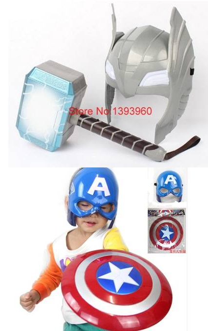 43a497ee787 Máscara de luxo com Luz de Led Acessórios  Martelo Thor R  25
