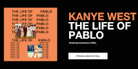 Kanye West The Life of Pablo image