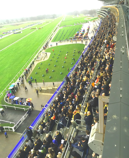 View of racecourse from Panoramic Restaurant Ascot