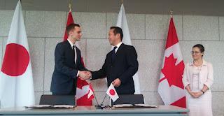 AppBridge signing Japan CanExport article
