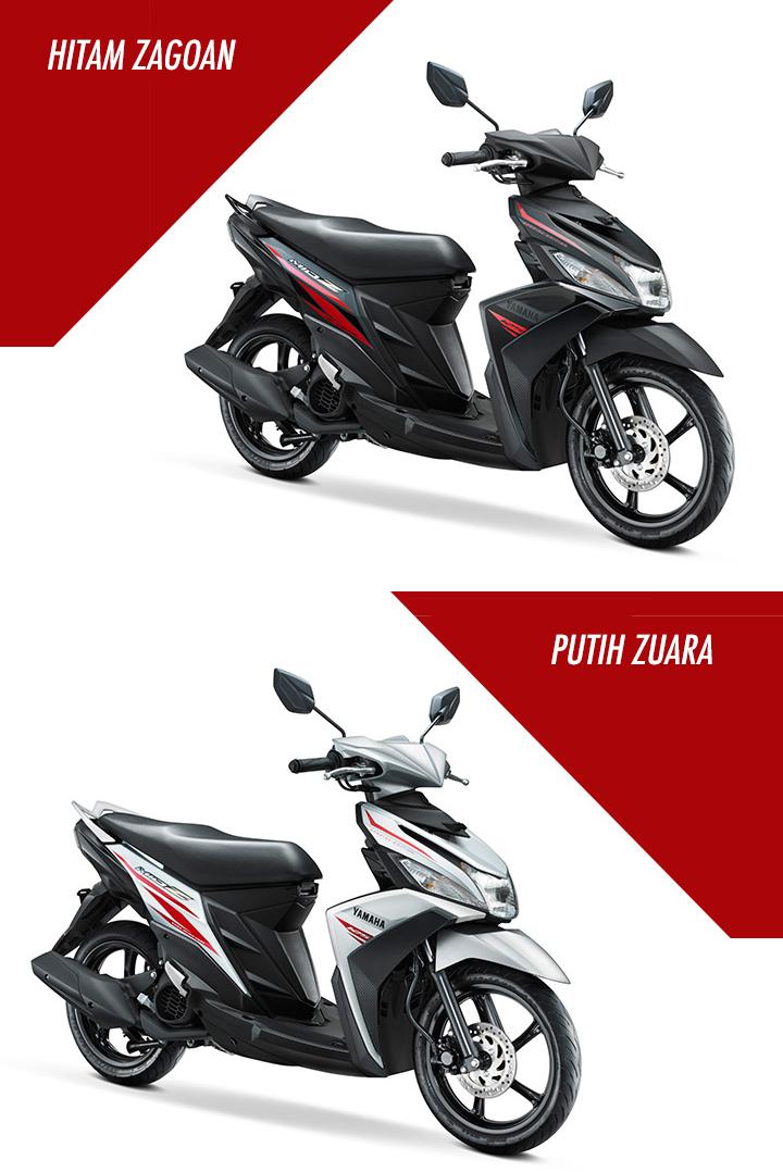 Yamaha Indonesia resmi merilis Yamaha Mio Z 125 Blue Core . .