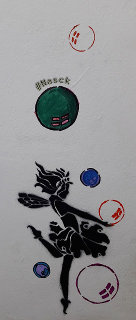 Stencil Bailarina - NasckColourUP - O processo