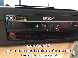 Cara Reset Printer Epson L130 L220 L310 L360 L365 Mudah Dengan Software Resetter
