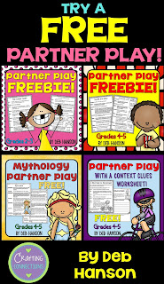 FREE Partner Plays to improve fluency! Scripts for 2nd through 5th grade students!