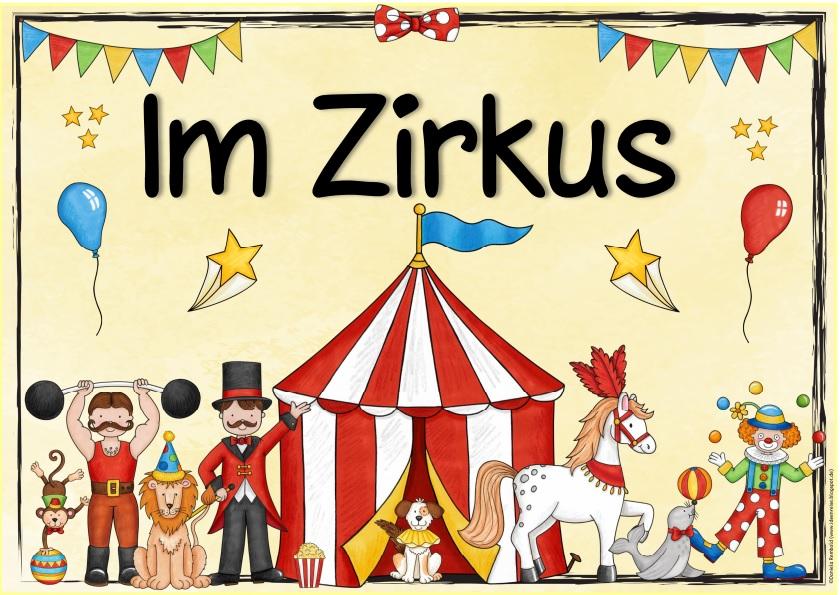 Ideenreise themenplakat im zirkus for Zirkus dekoration