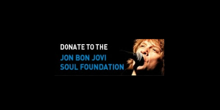 Donate to the Jon Bon Jovi Soul Foundation