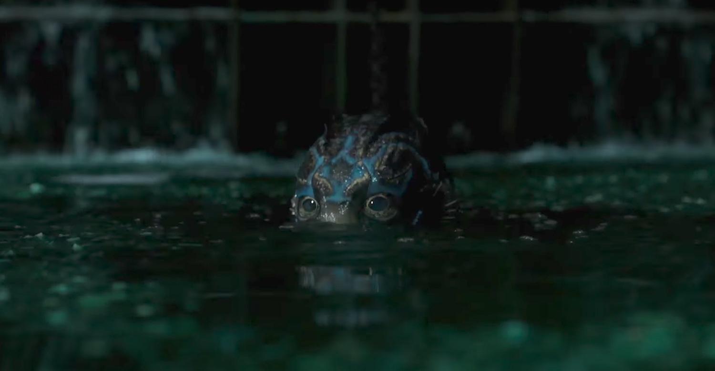 'La forma del agua' de Guillermo del Toro - la criatura