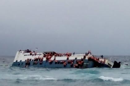 Video Detik-detik Kepanikan Tenggelamnya KM Lestari di Perairan Selayar