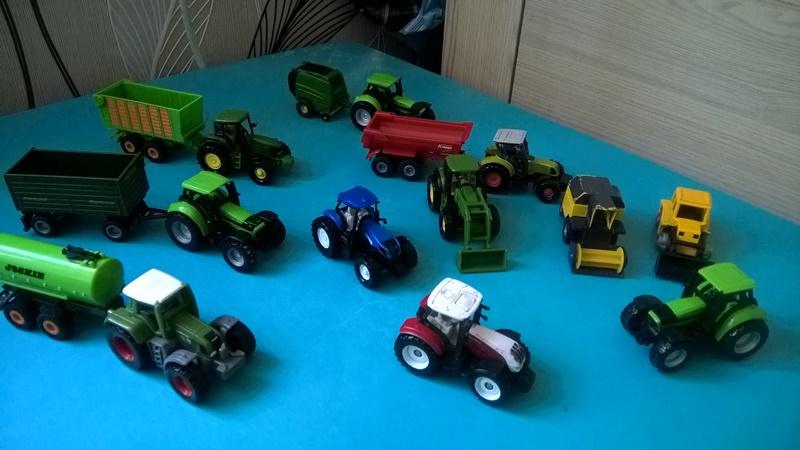 Marcelkowa Siku Traktory I Inne Modele