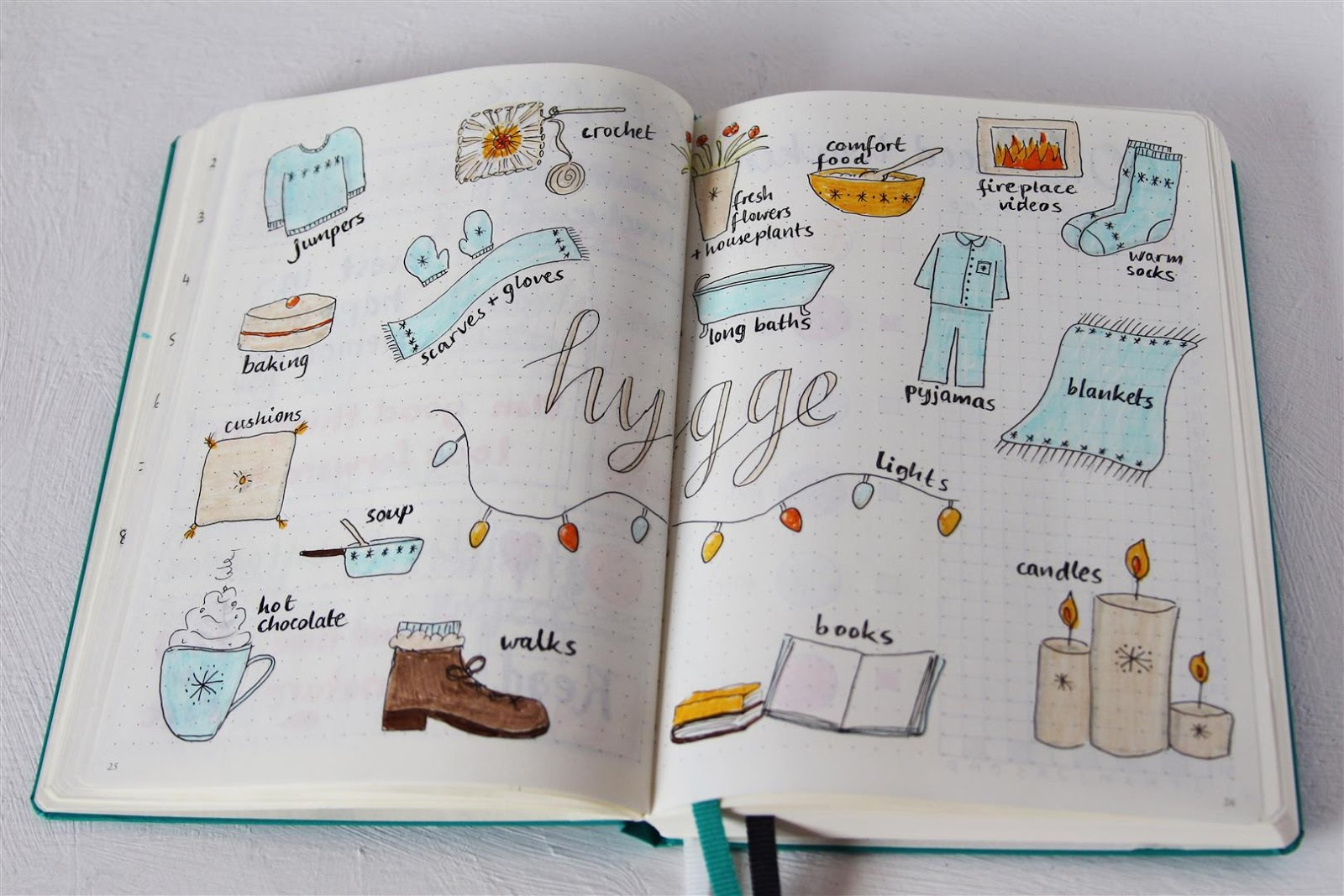 Emuse Bullet Journal Ideas Hygge