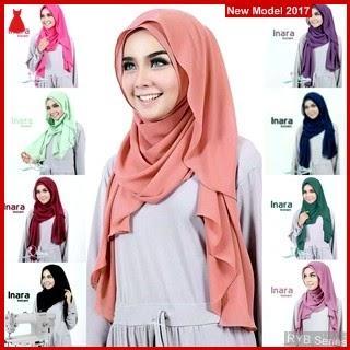 RYB100B Kerudung Jilbab Cantik Inara Murah Instant BMG Online Shop
