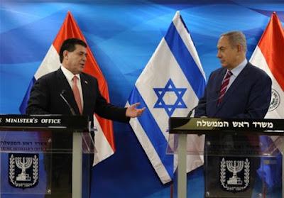 باراجواى تعلن عن نقل سفارتها من تل أبيب للقدس رسميا