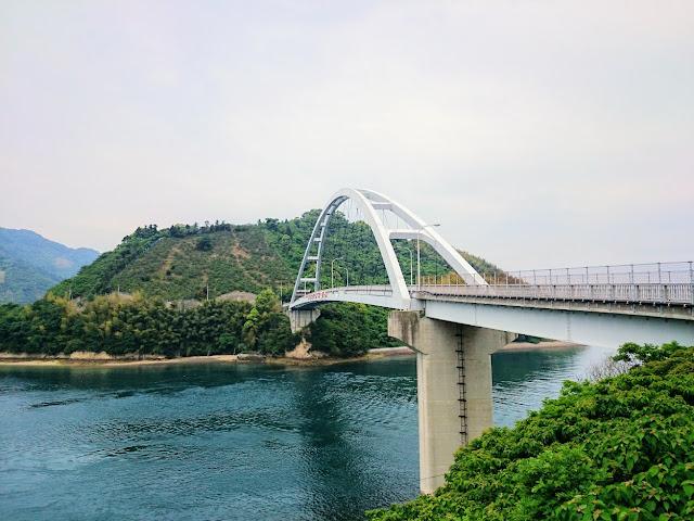 とびしま海道 岡村島 岡村大橋