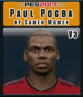 PES 2017 Faces Paul Pogba by Sameh Momen