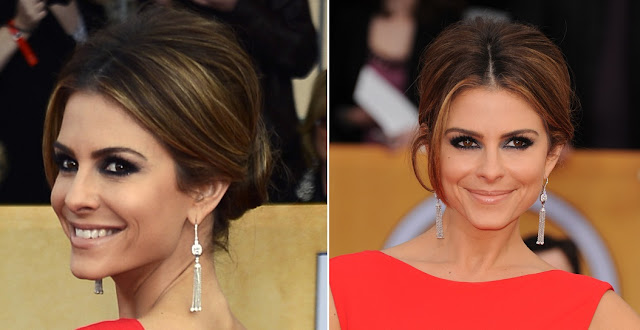 Maria Menounos - Celebrity Earrings Trend 2013