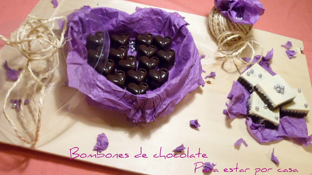 Bombones de chocolate